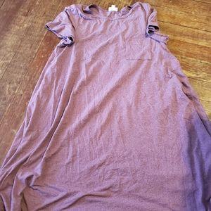 Lularoe Medium  pinkish purple  carly